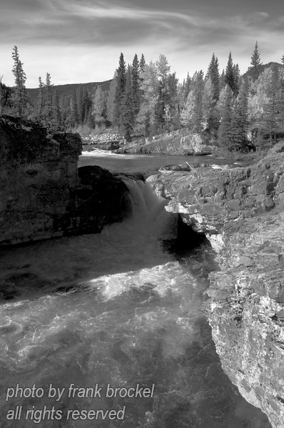 The Elbow Falls, Alberta