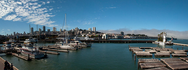 San Francisco - Pier 39 Panorama