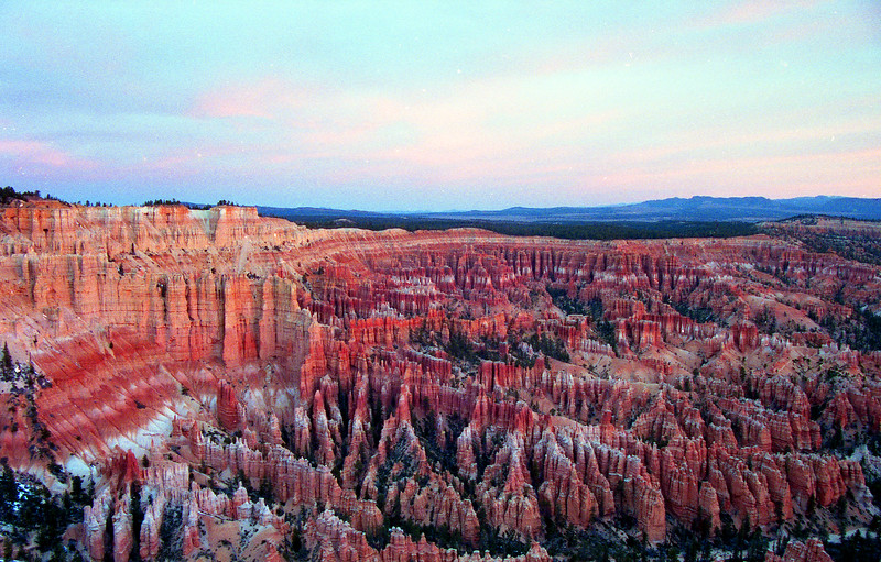 Bryce Canyon at sunset.  Bryce Canyon NP, UT<br /> <br /> © Kirk Sagers