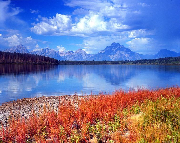 Emma Matilda Lake and the Teton range.  Grand Teton NP, WY<br /> <br /> © Kirk Sagers