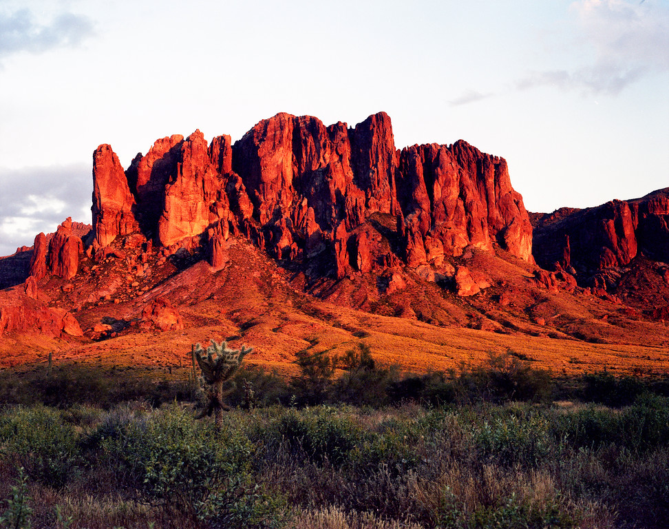 Superstition Mountains at sunset, near Phoenix, AZ<br /> <br /> © Kirk Sagers