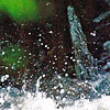My abstract water photo cropped down from a waterfall shot!