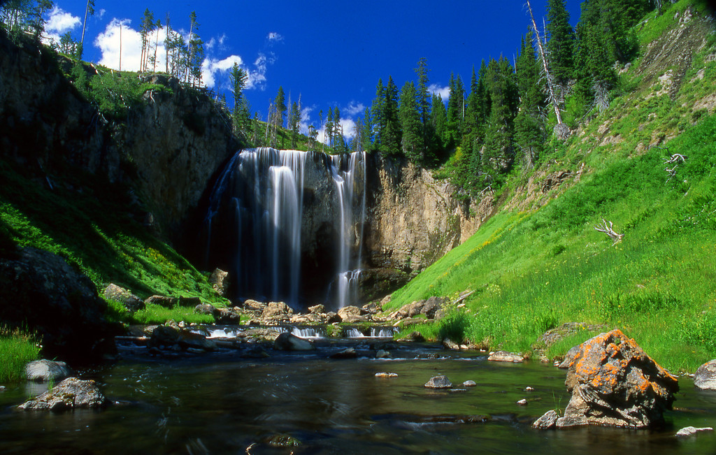 Dunanda Falls on Boundary Creek. Yellowstone NP, WY<br /> <br /> © Kirk Sagers
