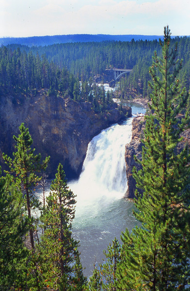 Upper Falls of the Yellowstone.  Yellowstone NP, WY