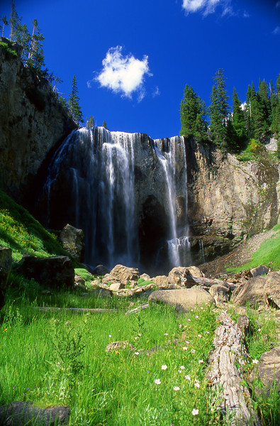 Dunanda Falls on Boundary Creek, Yellowstone NP, WY<br /> <br /> © Kirk Sagers