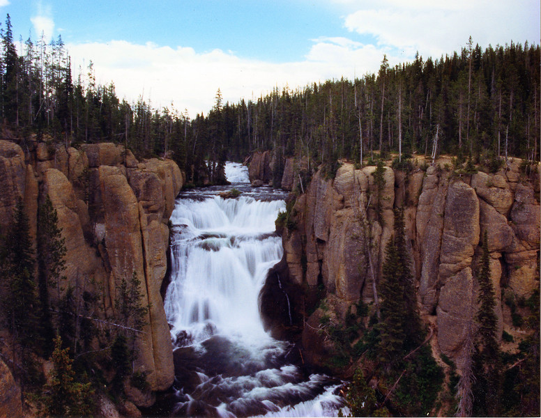 Terraced Falls, Yellowstone NP, WY<br /> <br /> © Kirk Sagers