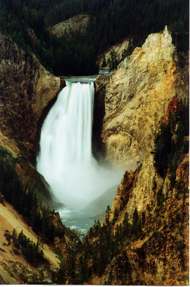 The Lower Falls of the Yellowstone.  Yellowstone NP, WY<br /> <br /> © Kirk Sagers
