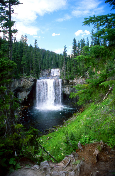 Colonnade Falls on the Bechler River, Yellowstone NP, WY<br /> <br /> © Kirk Sagers