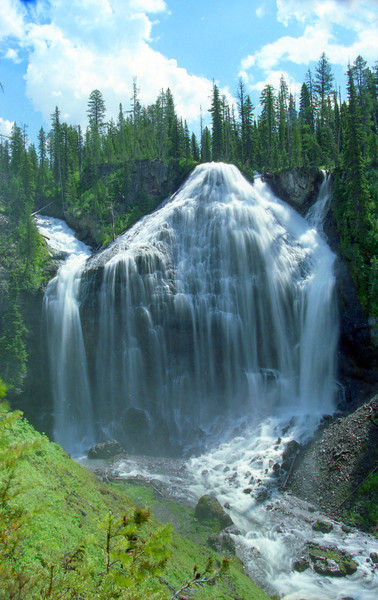 Union Falls.  Yellowstone NP, WY<br /> <br /> © Kirk Sagers