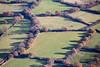 Aerial Autumn landscape.