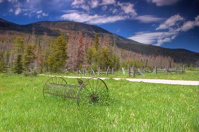 Holzwarth Farm, Rocky Mountain National Park, Colorado