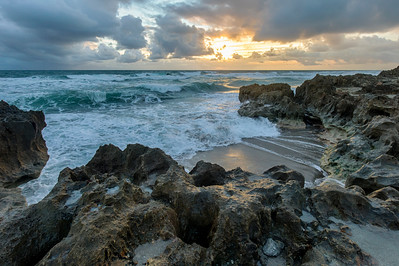 Sunrise over Ross Witham Beach