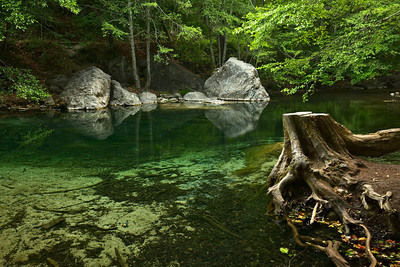 Swimming Hole, Pfeiffer Big Sur State Park