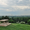 View of DC from Robert E Lee's Estate in Arlington Cemetery