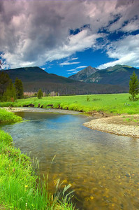 Colorado River, Rocky Mountain National Park, Colorado