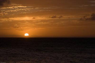 Sunset, Maui, HI, 1764