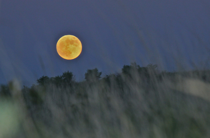 Fort Peck Full Moon