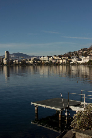 Switzerland, Montreux, Jetty SNM