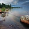 Landscape in Killbear Provincial Park in Ontario, Canada