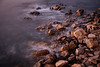 Rocks at sunset at Luderitz, Namibia