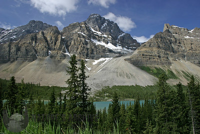 Canadian Rockies near Banff and Jasper National Parks, Canada