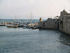 Akko city walls and harbor