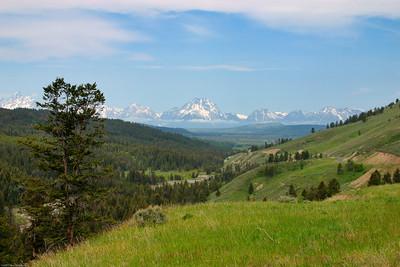 Tetons, Teton National Park, WY, 7274