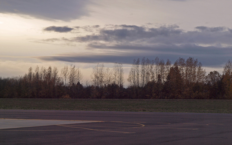 The airport at Aurora, Oregon - 19 Nov 2009