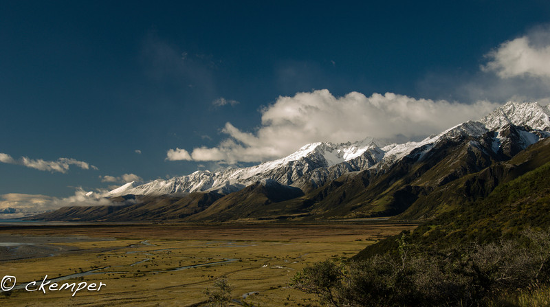 Tasman River Valley, NZ