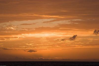 Sunset, Maui, HI, 1772