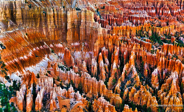 View from Inspiration Point, Bryce Canyon,Utah, USA