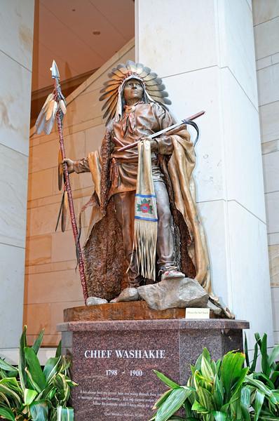 Chief Washakie (Wyoming) inside Capitol