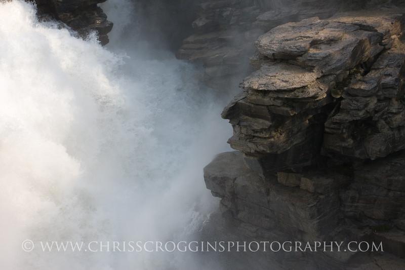 Athabaska Falls Detail