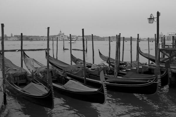 Italy, Venice, Gondolas SNM