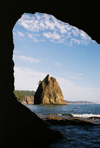 Washington State, Olympic National Park, Rialto Beach area