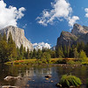 Valley View on the Merced River in Yosemite Valley - 22 Oct 2010