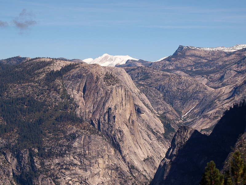 View of eastern Yosemite Valley from Washburn Point - 25 Oct 2010
