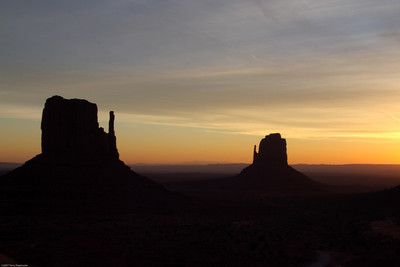 Monument Valley Sunrise, Monument Valley, AZ, 4332