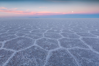 Full Moon and Salt Flat