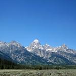 The Tetons, Jackson Hole, Wyoming.