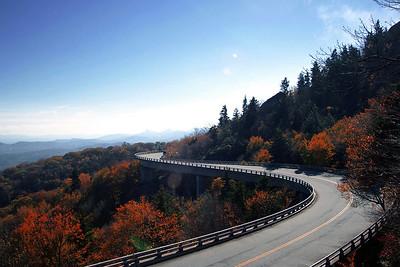autumn viaduct