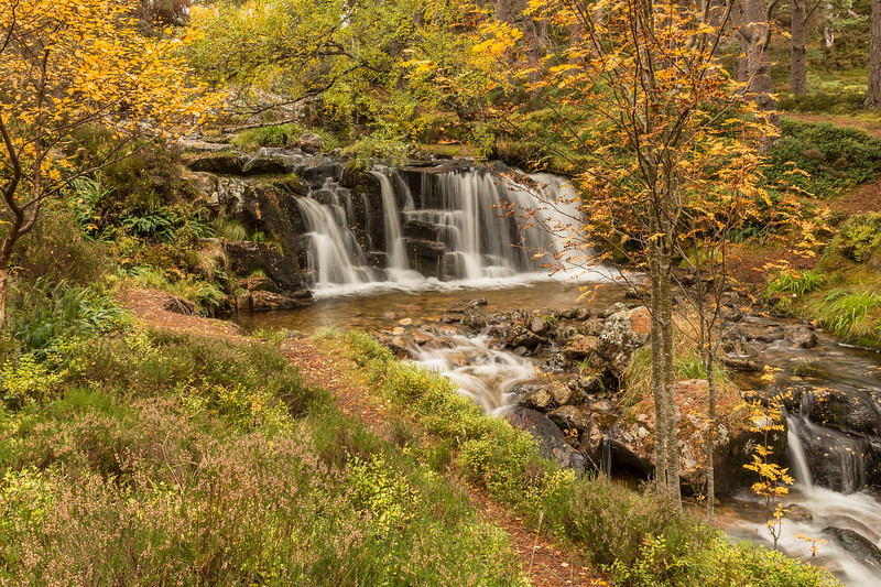 Waterfalls Glen Feshie