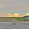 Driftboat on the Yellowstone.