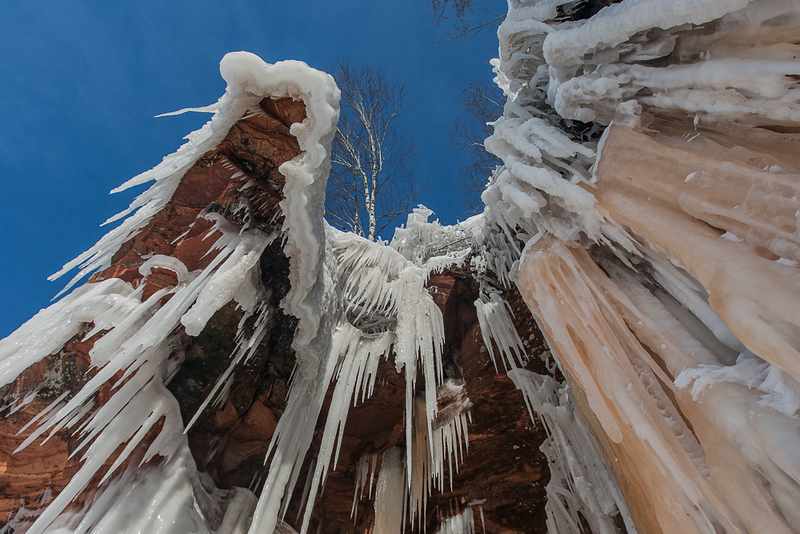 Apostle Islands National Lakeshore Ice Caves 1