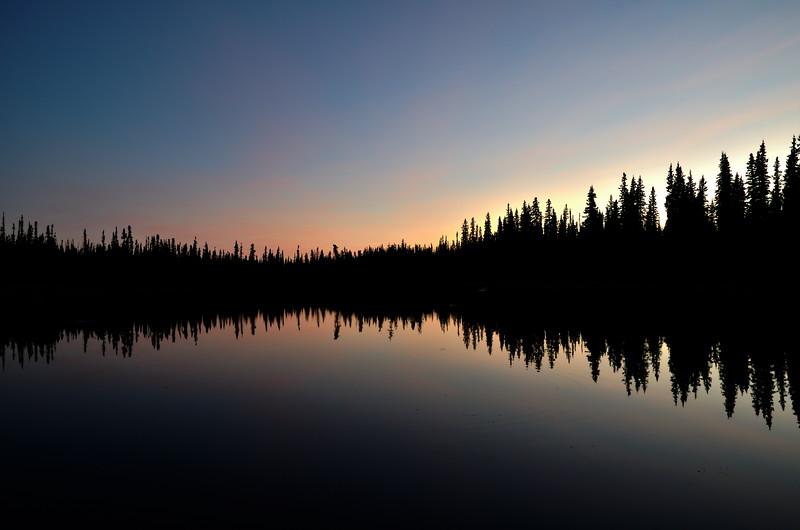 Ballaine Reflection After Sunset