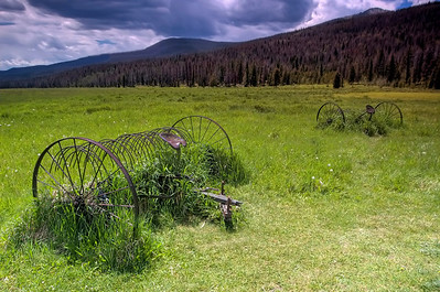 Holzwarth Farm, Rocky Mountain National Park, Colorado