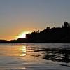 Sunset on the Yellowstone.