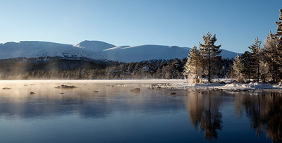 Loch Morlich at -10 degrees