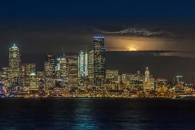 Wolf Moon Rising- Seattle