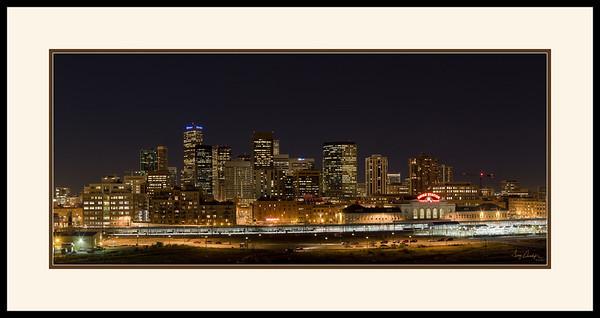 Denver Skyline (7567-7584) - Mockup Brown Mat